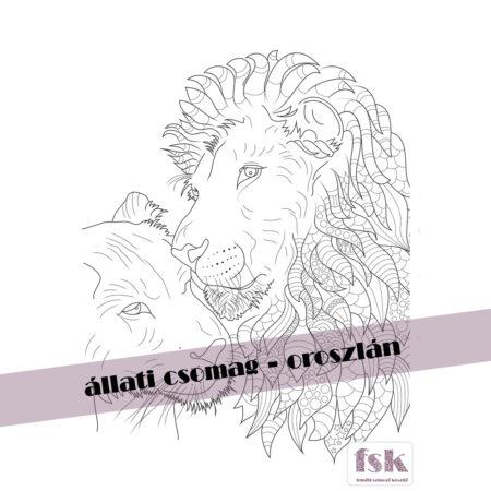 Állati csomag - oroszlán