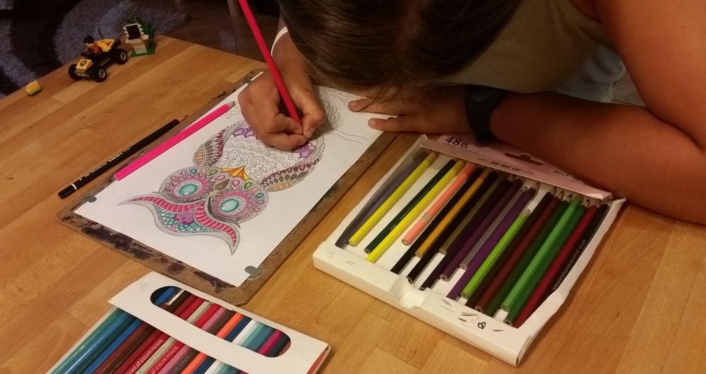 Felnőtt színező - bagoly